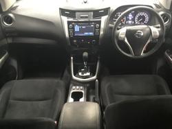 2017 Nissan Navara ST D23 Series 2 4X4 Dual Range Silver