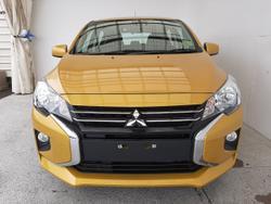2021 Mitsubishi Mirage ES LB MY22 Yellow