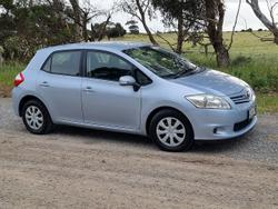 2010 Toyota Corolla Ascent ZRE152R MY11 Blue