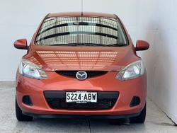 2008 Mazda 2 Neo DE Series 1 Orange