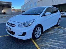 2017 Hyundai Accent Sport RB5 MY17 White