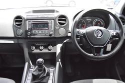 2015 Volkswagen Amarok TDI400 Core 2H MY16 4X4 Dual Range Candy White