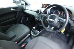 2010 Audi A1 Attraction 8X MY11 SILVER