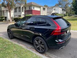 2021 Volvo Xc60 T6 R-Design 2.0L S/C T/P 246kW 8AT Wagon MY21 4WD Onyx Black