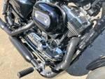 2015 HARLEY-DAVIDSON XL1200C 1200 CUSTOM Black