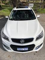 2014 HOLDEN COMMODORE SS-V VF WHITE