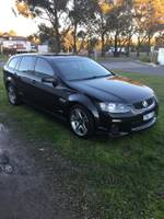 2012 HOLDEN COMMODORE SS VE Series II Black