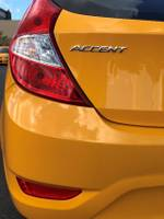 2017 HYUNDAI ACCENT Active RB4 Yellow