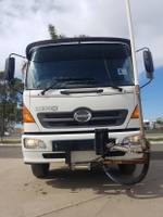 2007 Hino GD EX-COUNCIL LOW KILOMETERS WHITE