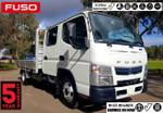 """2018 FUSO CANTER 515 CREW AUTO 6 SEAT """"READY TO GO"""" CAR LICENCE null null White"""