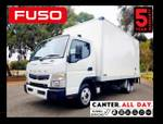 Fuso Canter 515 Wide CAB AMT PAN & Loader & CAR Licence