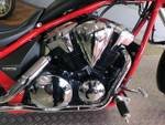 2012 Honda VT1300CX BLACK