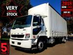 Fuso Fighter 1627 Auto 12PLT Tautliner **2 Years Free Servicing**