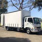 2018 FUSO FIGHTER 1024 DEMO BUILT READY 10 PALLET TAUTLINER null null null