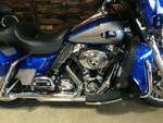 2009 Harley-Davidson FLHTCU ULTRA CLASSIC E/GLIDE Flame Blue Prl/Pewter Prl