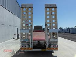 2009 Krueger 45FT Dropdeck with Ramps