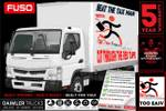 Fuso Canter 515 Wide AMT PAN & Loader - CAR Licence *ready TO GO*