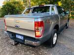 2016 FORD RANGER XLT 3.2 (4x4) PX MKII SILVER