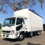 2018 FUSO FIGHTER TAUTLINER 2T LIFT **DEMO PRICES GENUINELY SLASHED** null null null