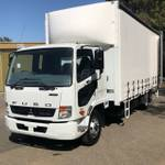 Fuso Fighter Tautliner 2T Lift **demo Prices Genuinely Slashed**