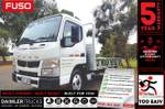 Fuso Canter 515 AMT City 3 Seat 4.5M D/SIDE Alloy Tray Ready Now!