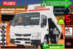 Fuso Canter 615 City CAB 3 Seater 3T Tipper