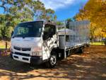 2019 FUSO CANTER 918 XXLWB 5SP.MAN. BEAVERTAIL null null null