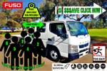 """Fuso Canter 515 Twin CAB Auto 6 Seat """"ready TO GO"""" CAR Licence"""