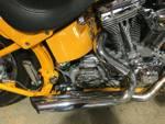 2004 Harley-Davidson FXSTD SOFTAIL DEUCE Yellow Pearl and Platinum Mist