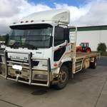2012 Fuso FM67 TIPPING CATTLE TRUCK
