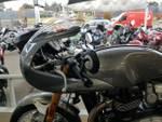 2016 Triumph THRUXTON R SILVER
