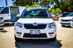 2016 SKODA Yeti 110TSI Outdoor 5L MY17 4X4 On Demand WHITE