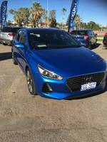 2018 Hyundai i30 SR PD MY18 Blue