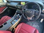2015 Lexus IS IS300h F Sport AVE30R WHITE